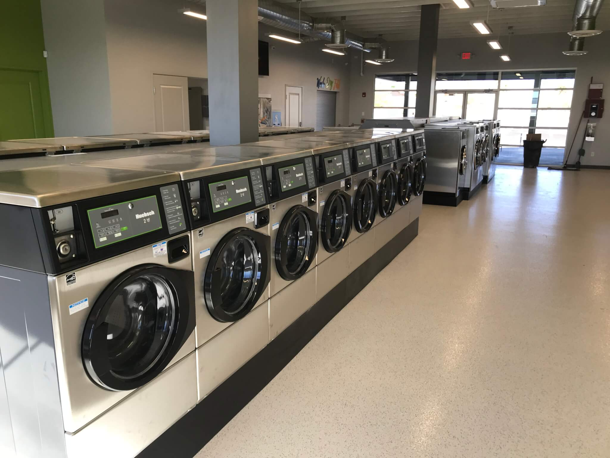 Modern Laundromat - Coin & Professional Equipment Co.